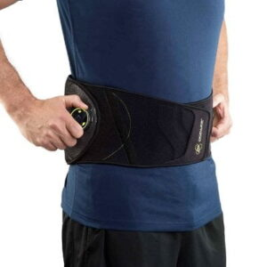 The Dial Adjust Back Brace - easily adjust the compression and support needed to help relieve lower back