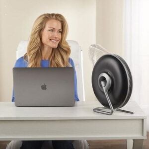 The Germ Eliminating HyperHEPA Personal Air Purifier - instantly cleanses the air