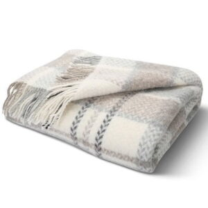 The Icelandic Sheep Wool Blanket - A woolen throw blanket handcrafted from the fleece of Iceland's renowned sheep