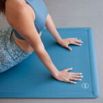 The Self Rolling Wide Yoga Mat - setup easily without any rolled up corners