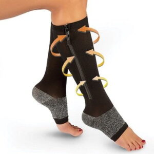 The Self Warming Compression Socks - provide graduated compression to help improve circulation and provide relief for achy feet