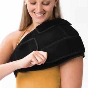 The Pain Relieving Cold Compression Wraps for Shoulder - A shoulder wrap that provides the soothing benefits of cold compression