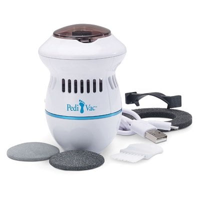 The Powered Pumice Stone Vacuum