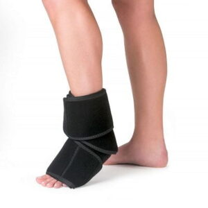 The Foot and Ankle Cold Compression Wrap - eases pain and inflammation caused by arthritis, tendinitis, and plantar fasciitis
