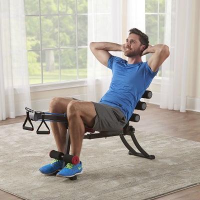 22 Exercises Foldaway Gym 1