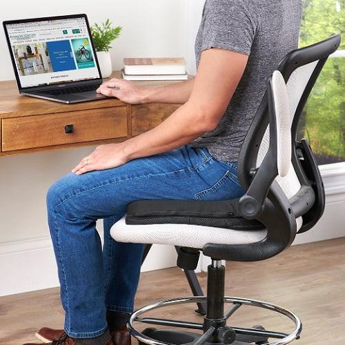 Customized Fit Coccyx Gel Cushion1