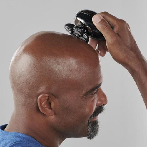 Ergonomic Head Shaver