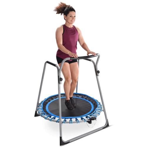 Safer Fitness Trampoline