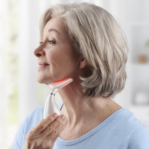 Neck Wrinkle Reducing Therapy Device