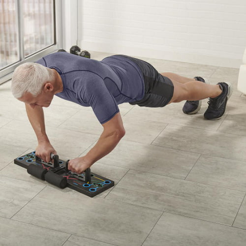 Muscle Isolating Push Up Trainer